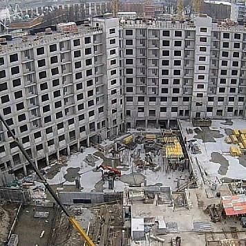 ЖК Европа Сити, ход строительства