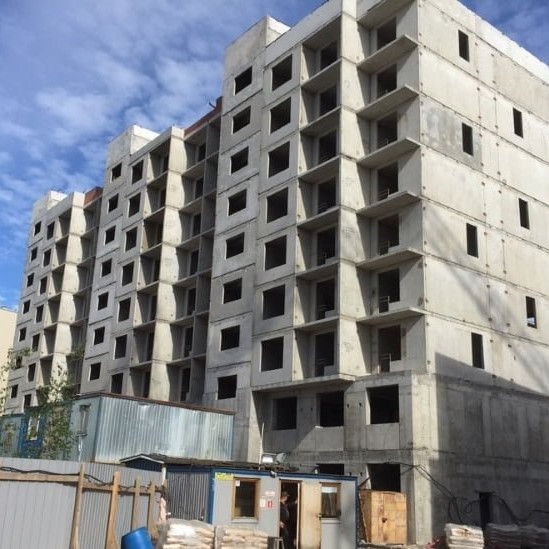 Ход строительства жилого комплекса Европа Сити