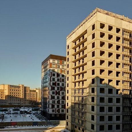 Ход строительства ЖК Европа Сити в Петроградском районе